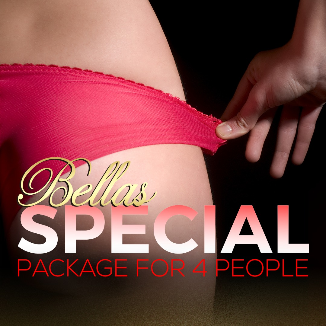 Bellas Special package at the best miami strip club